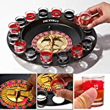 #3: Packnbuy Roulette Casino Game Set With 16 Drinking Shot Glasses