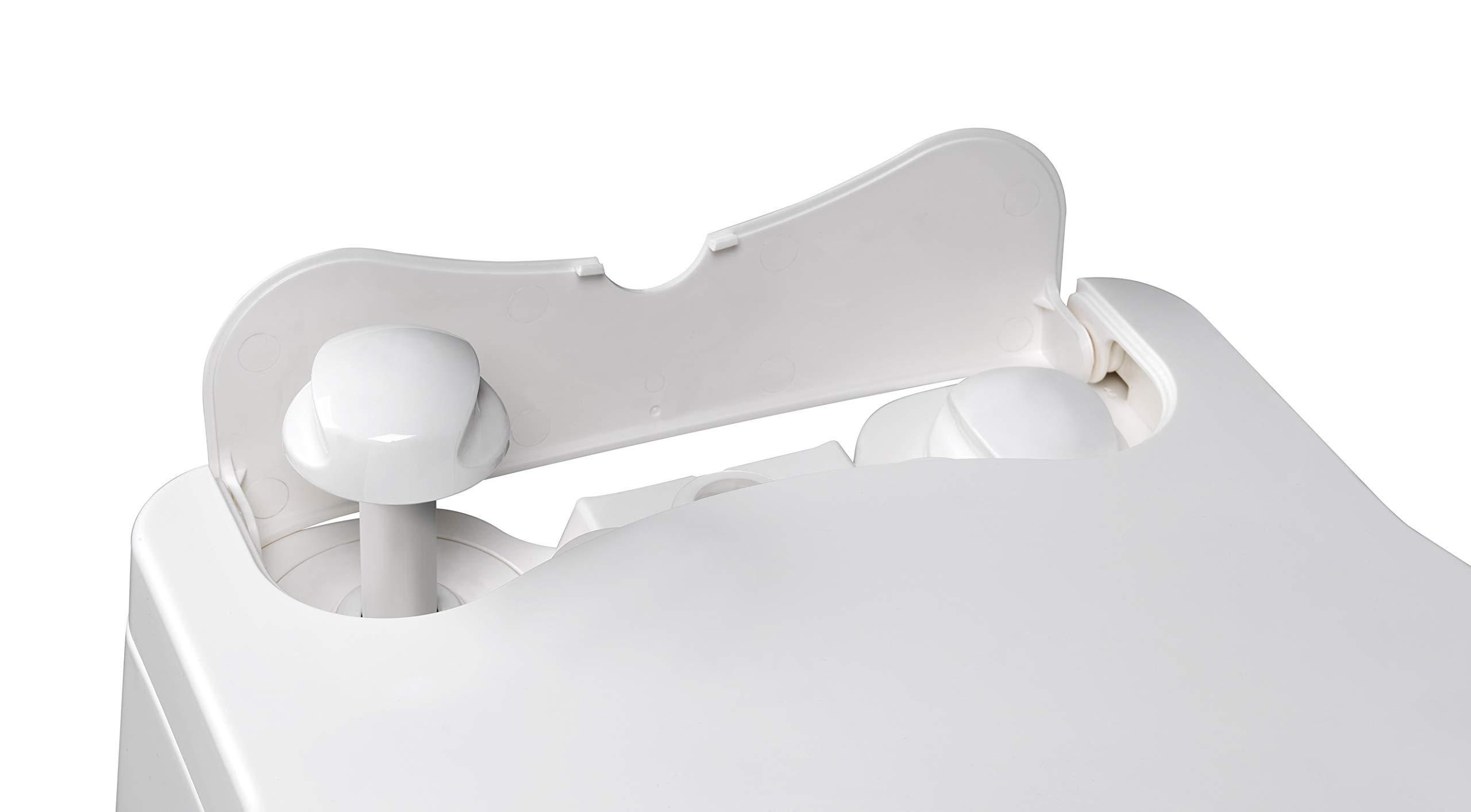 Thetford 92305 Porta Potti 565P Excellence Portable Toilet (Manual), 448 x 388 x 450 mm 11