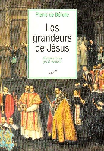 Les grandeurs de Jésus