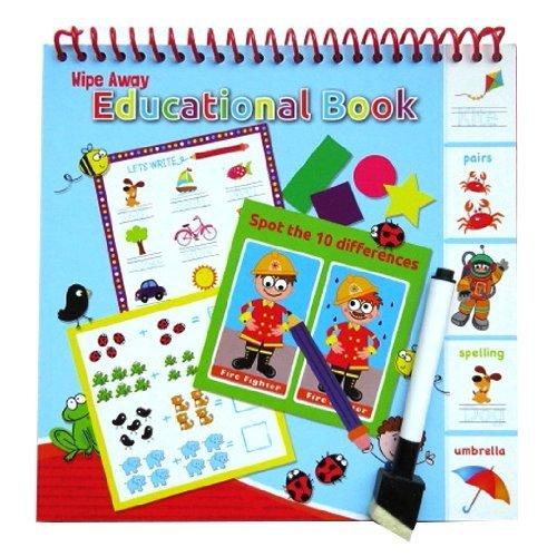 Anker Kids Create Livre d'apprentissage éducatif, en Plastique, Couleurs Assorties