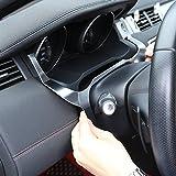 Innen Front Armaturenbrett Edge Cover Rahmen Trim ABS Chrom Aufkleber Zubehör