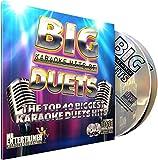 Mr Entertainer Big Karaoke Hits of Duets. Double CD+G/CDG Disc Set. 40 grandi canzoni per il duetto di karaoke con testi sullo schermo