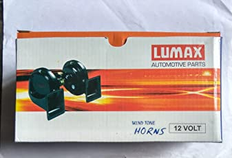 Lumax Wind Tone Horn for Cars and Suv's (Lumax)