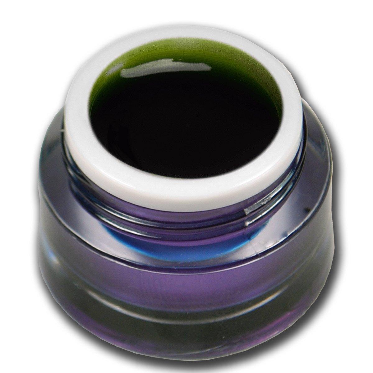 Premium Gel vetro colorato verde 5ml Gel UV Unghie Nail Art