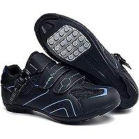 Scarpe da Ciclismo Scarpe da Strada E Mountain Bike in Fibra di Carbonio Antiscivolo E Traspiranti, Sneakers A Strisce…