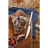 WMF Nuova Steakmesser, Set 6-teilig, 23 cm, Pizzabesteck, Cromargan Edelstahl poliert, spülmaschinengeeignet - 3
