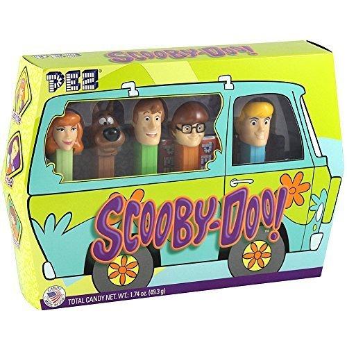 Pez Scooby Doo Gang Set - 5 Dispensers & 6 Rolls Shaggy Fred Velma & Daphne
