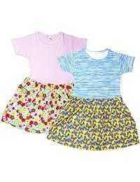 Sathiyas Girls Dresses (Pack of 2)