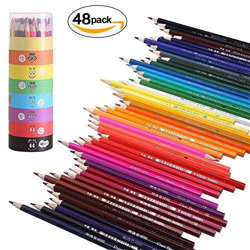 GYOYO 48Matite Colorate, Pastelli a Cera Arte, disegno buntstift kreiden ARTISTA DISEGNO PER Secret Garden distribuzione di Scuole di Arte figurativa e libri coloraige per l' adulto bambino