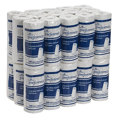 preference-27385-white-2-ply-perforated-paper-towel-roll-88-new-free-shipping-by-cm