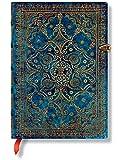 Equinoxe Azurblau - Notizbuch Midi Unliniert - Paperblanks
