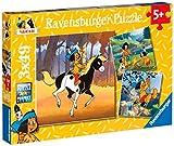 Ravensburger 09308 - Yakari in giro, Puzzle 3x49 pezzi