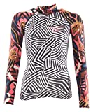 BILLABONG 2018 Ladies Surf Capsule Long Sleeve Rash Vest Multi H4GY06 Sizes- - Medium