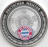 Medaille FC Bayern München Polierte Platte Rekordmeister (Münzen für Sammler)