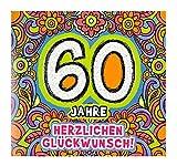 Glückwunschkarte mit Musik, 60. Geburtstag