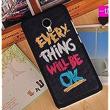 Prevoa ® 丨Meizu M2 Note Funda - Colorful Hard Plastic Funda Cover Case para Meizu M2 Note 5.5 Pulgada Smartphone - 14