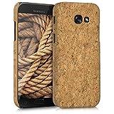 kwmobile Funda para Samsung Galaxy A5 (2017) - Carcasa Protectora de [Corcho] para teléfono móvil - Cover [Trasero] rígido y Resistente