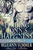 Finding Conn's Happiness [Lubirea Mai 4] (Siren Publishing The Bellann Summer ManLove Collection)