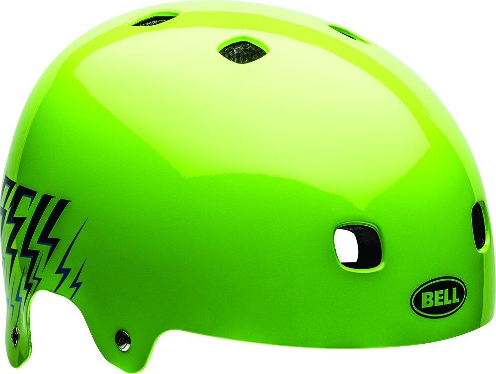 Bell Kinder Fahrradhelm Segment JR, Green Shocksteady, 48-53 cm, 210093003
