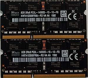 HYNIX lot de 2 barrettes mémoire rAM dDR3L 16Go/1866 mHz 1867 apple iMac 17,1 mHz fin 2015 aD 0 x 80