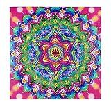 Akddy 5D DIY Diamante en Forma Especial Pintura Colorida Flores Kits de Punto de Cruz