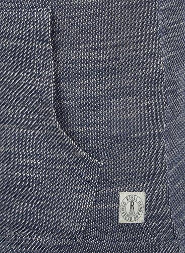 REDEFINED REBEL Marshall - Felpa con Cappuccio da Uomo Navy