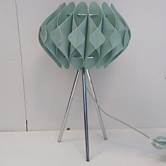 Tripod table lamp with taco shade modern home lamp clearance tripod table lamp with taco shade modern home lamp clearance litecraft pale green amazon lighting aloadofball Image collections