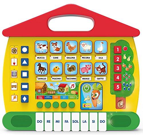 Lisciani giochi 64151-carotina fattoria degli animali, 64151