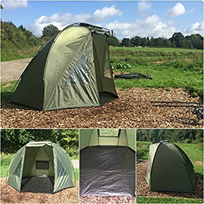 Quest Shelter MK1 Carp Fishing Bivvy Overnight 1 Man Brolly 2 Tent by Quest Tackle