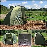Quest Tente de Bivouac de pêche à la carpe colonne d'eau 5000 mm Bivvy Bivy – Tente de camping - 1-2 man personne places