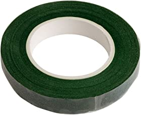 ULTNICE Green Floral Tape Florist Tape Adhesive Packing Tape for Bouquet Stem Wrap
