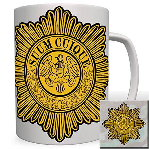 Suum Cuique Gardekorps Preußischer Stern Des Schwarzen Adler Ordens Infanterie Divisionen Kavallerie Feldartillerie - Tasse Kaffee Becher #16518 -