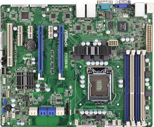 Asrock e3C204-4L Mainboard Sockel 1155Intel C204, DDR3, S-ATA 600, ATX Up Lösung für Application Server
