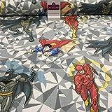 Midtex DC Wunder Comic Superman, Batman & Flash Craft Stoff