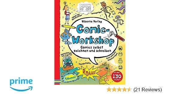 Comic Workshop Comics Selbst Zeichnen Und Schreiben Amazon