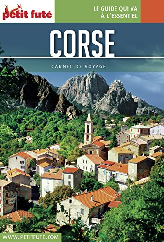 Couverture du livre Corse 2016 Carnet Petit Futé