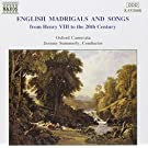 Madrigaux anglais & Songs
