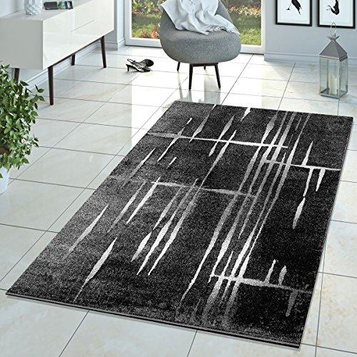 T&T Design Alfombra De Salón Moderna Diseño Matrix Pelo Corto Jaspea