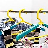 Produkt-Bild: Lantelme Mitwachsende Kinder / Baby Kleiderbügel ausziehbar 9 Stück Set