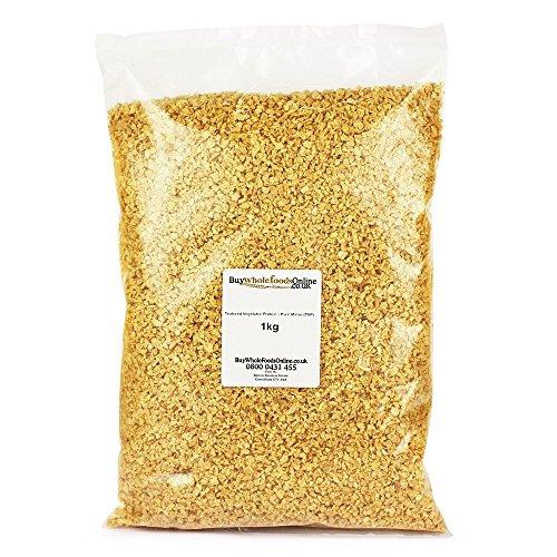Textured Vegetable Protein - Plain Mince (TVP) 1kg (Buy Whole Foods Online Ltd.)
