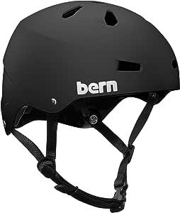 Bern Macon -  Casco da ciclismo e skate, Unisex
