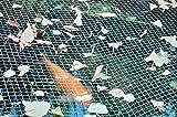 Teichnetz 6x5 Meter Laubnetz Vogelschutznetz Fischreiherschutz Sehr robust