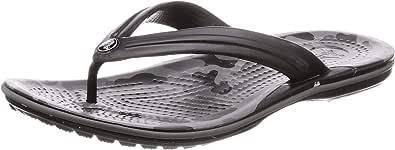 Crocs Crocband Seasonal Graphic Flip U, Scarpe da Spiaggia e Piscina Unisex-Adulto