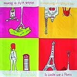 Servilletas de papel–Servilletas rom Paris London Barcelona–20Unidades