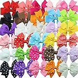 Lazos De Pelo Con Pinza Para Niñas Horquilla Mariposa Patrón 30 Piezas Clip De Pelo En Paquete Para Chica