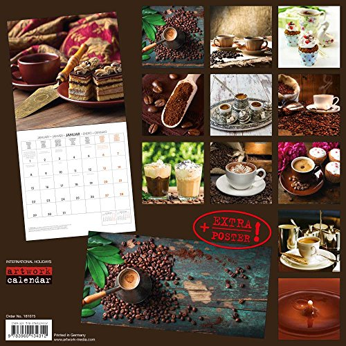 Preisvergleich Produktbild Zeit für Kaffee 2018: Kalender 2018 (Artwork Edition)
