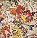 Outop Rétros Cartes postales de voyage 1 Set-32 pcs