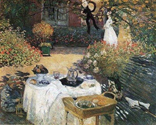 1art1 50899 Claude Monet - Das Mittagessen, 1873 Poster Kunstdruck 50 x 40 cm