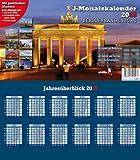 Drei-Monatskalender Berlin-Brandenburg 2015: Praktischer Monatsplaner mit landesspezifischen Kalendarium - Jörg Neubert
