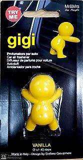 MR/&MRS FRAGRANCE Profumo per Auto Gigi Giallo Vanilla Accessori Auto Profumo